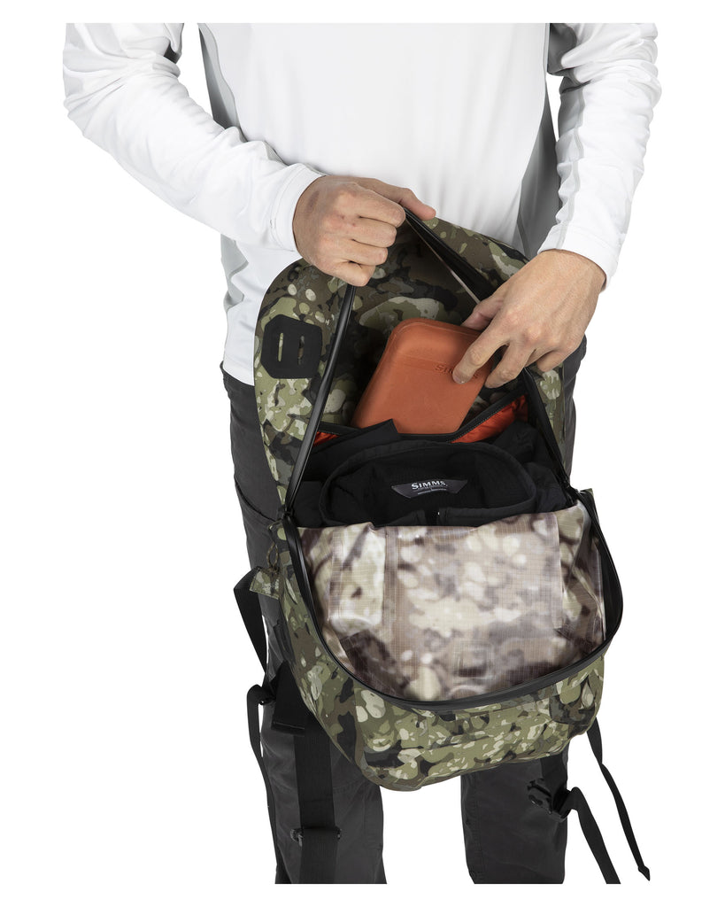 SIMMS Dry Creek Z Fishing Backpack - 35 Liters - Riparian Camo