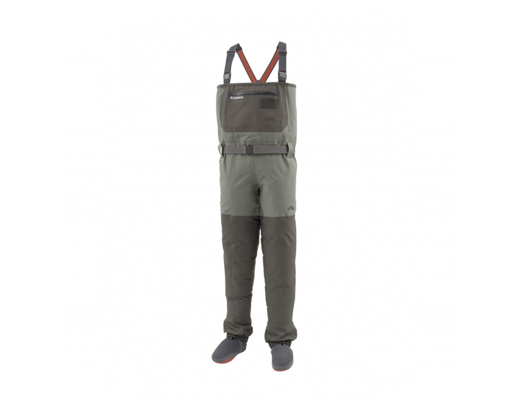 SIMMS Men's Freestone Waders - Stockingfoot - Dark Gunmetal