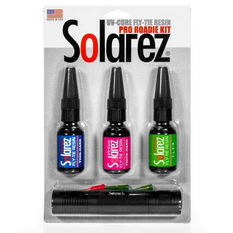 Solarez UV-Cure Fly-Tie UV Resin Pro Roadie Kit