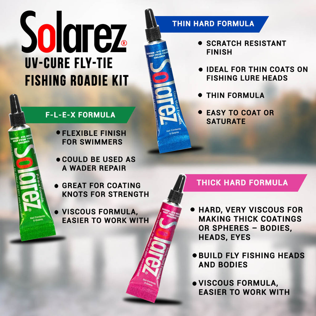 Solarez UV-Cure Fly-Tie UV Resin Roadie Kit