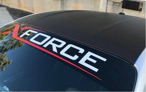 Decal Xforce Windscreen Banner