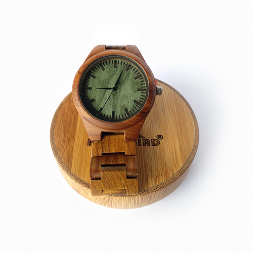 Sandal Wood Color-changing Watch