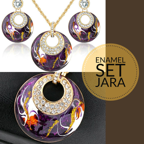 Copy of Enamel (3) Jewellery Set