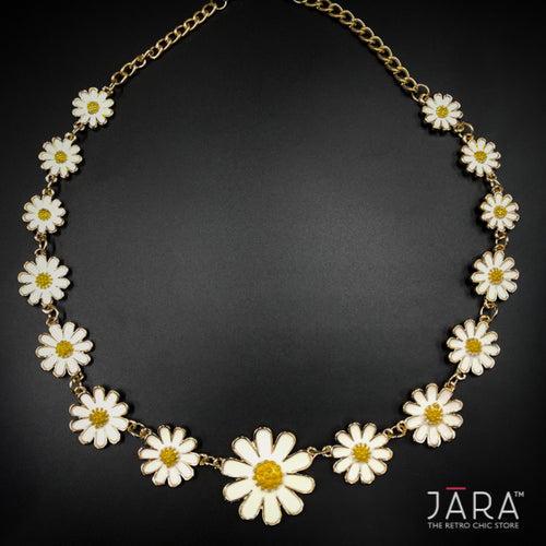 Fresh Daisies chain Necklace