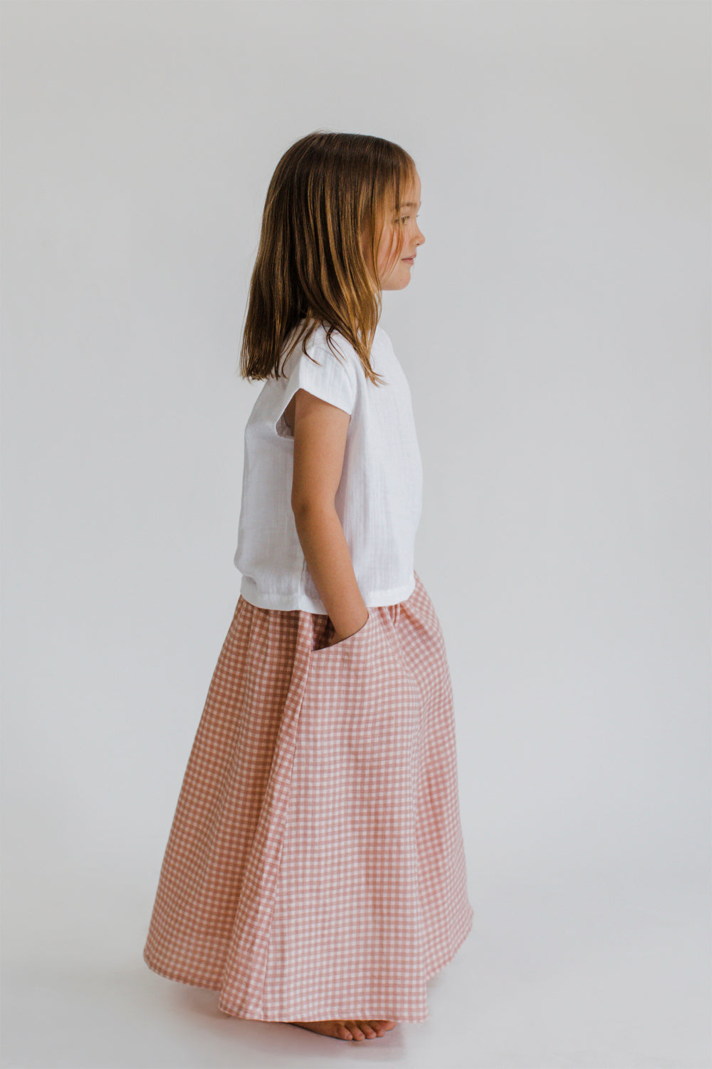 Holiday Skirt Gingham