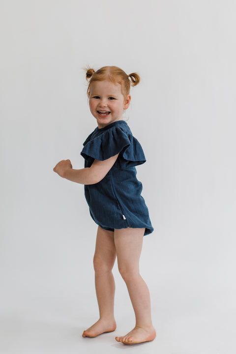 Little Romper Navy