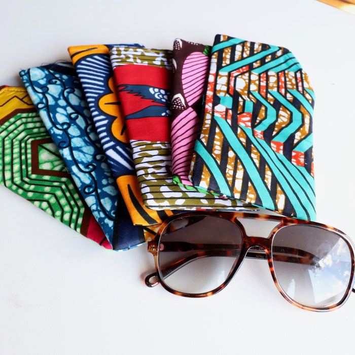 Bold African Print Sunglass Cases