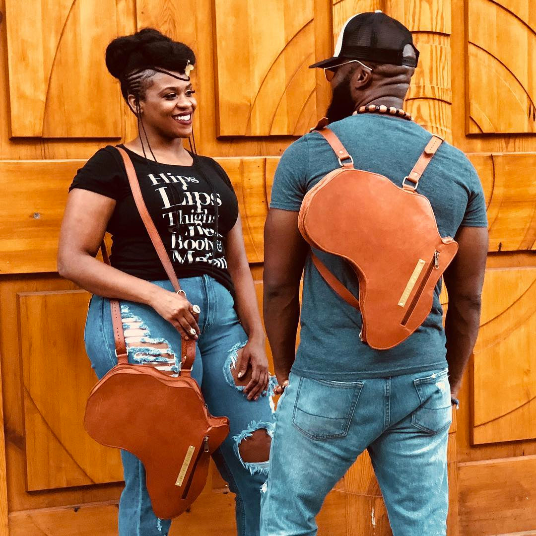 Luxury Leather Africa Bag by Orijin Culture ($300 value)