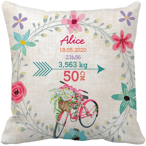 Coussin naissance Alice
