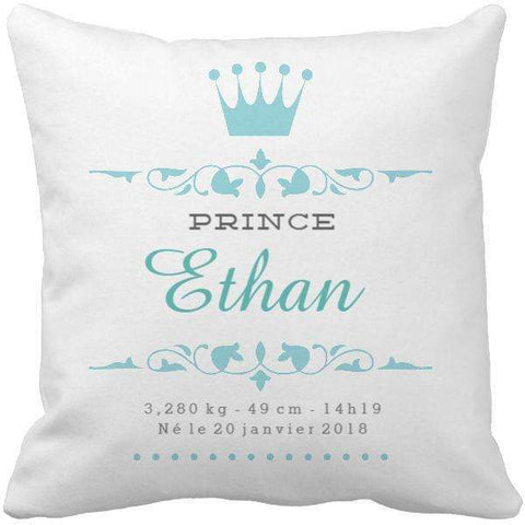 Coussin naissance Prince : Captain Baby