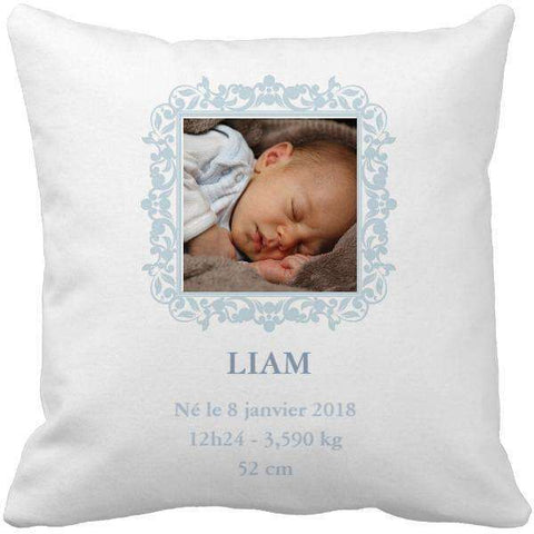 Coussin naissance baby blue - Ingenious-Gadget