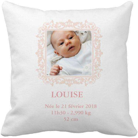 Coussin naissance baby pink - Ingenious-Gadget