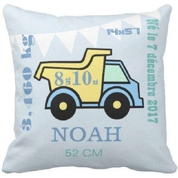 Coussin naissance camion - Ingenious-Gadget
