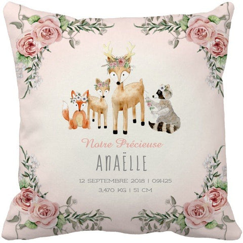Coussin naissance Anaëlle