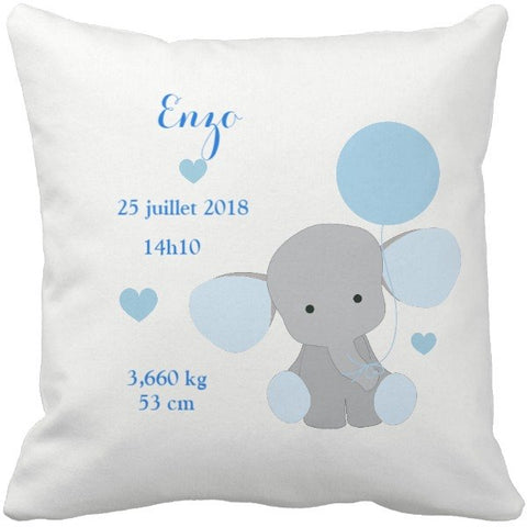 Coussin naissance Enzo