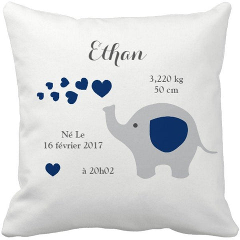 Coussin naissance Ethan