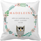 Coussin naissance Madeleine