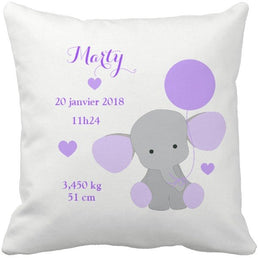 Coussin naissance Marty