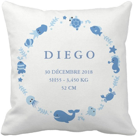 Coussin naissance Diego