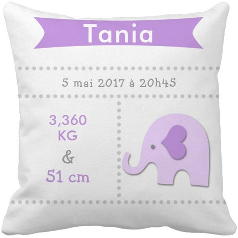 Coussin naissance Tania