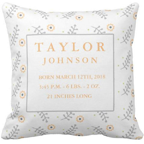 Coussin naissance Taylor