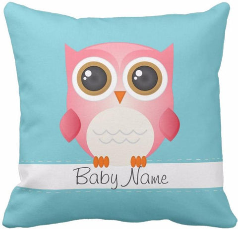 Coussin naissance baby chouette
