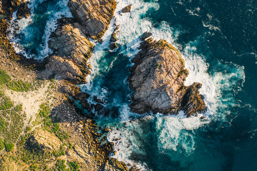 Sugarloaf Rock from Above - AP0254