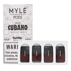 Cubano Replacement POD 4 Pack by MYLE