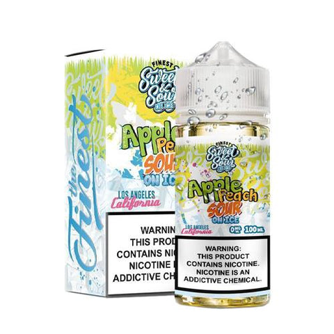 Apple Peach Sour Ring On Ice by Candy Shop On Ice E-Liquids 100ml