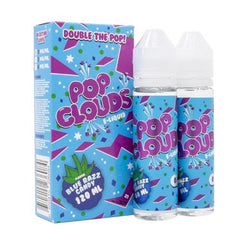 Blue Razz Candy by Pop Clouds E-Liquid 120ml (2x60ml)