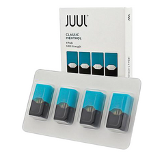 Classic Menthol Replacement POD 4 Pack by JUUL