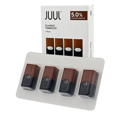 Classic Tobacco Replacement POD 4 Pack by JUUL