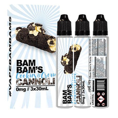 Cookies & Cream Cannoli by Bam Bam's Cannoli 90ml (3x30ml)