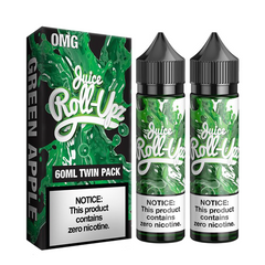 Green Apple by Juice Roll Upz 120ml (2x60ml)