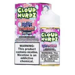 Iced Strawberry Grape by Cloud Nurdz Iced 100ml