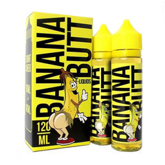 Left Cheek by Banana Butt E-Liquid 120ml (2x60ml)