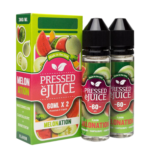 Melonation by Pressed E-Juice 120ml (2x60ml)