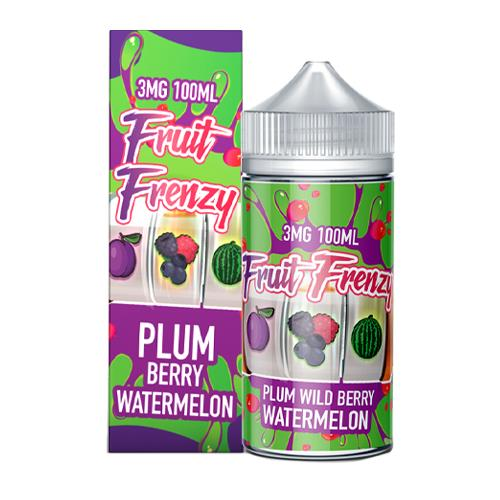 Plum Berry Watermelon by Fruit Frenzy 100ml