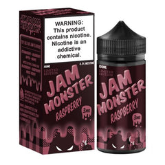 Raspberry by Jam Monster 100ml