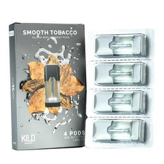 Smooth Tobacco Replacement POD 4 Pack By Kilo 1K