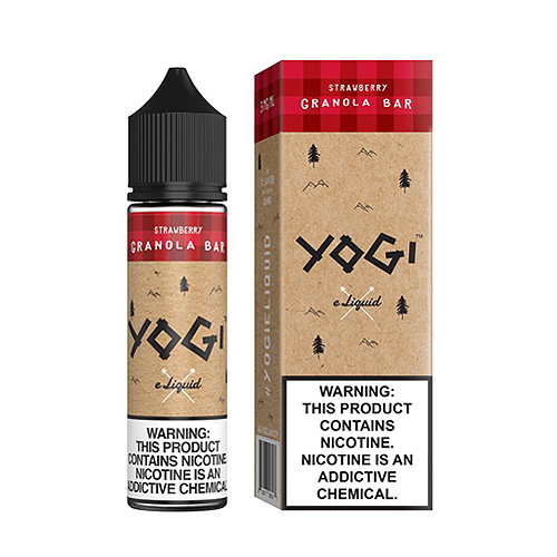 Strawberry Granola Bar  by Yogi E Liquid 60ml