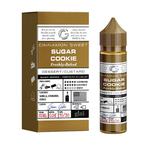 Sugar Cookie by Glas Basix Series 60ml