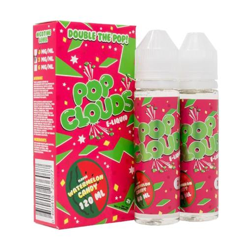 Watermelon Candy by Pop Clouds E-Liquid 120ml (2x60ml)