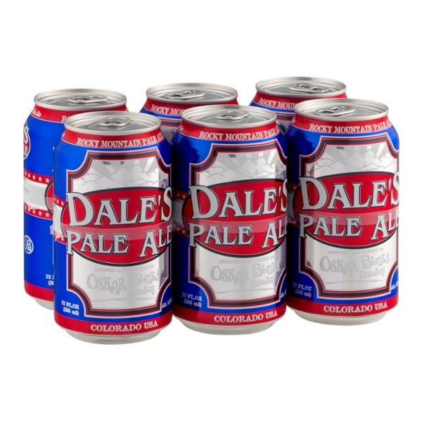 Oskar Blues Brewery, Dale's Pale Ale, 6 Cans briansdiscountmarket