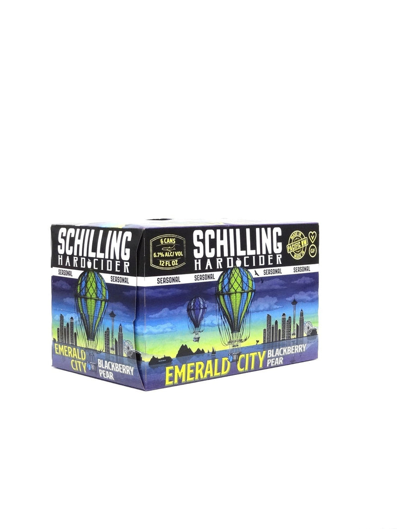 Schilling Emerald City Blackberry Pear Cider  briansdiscountmarket