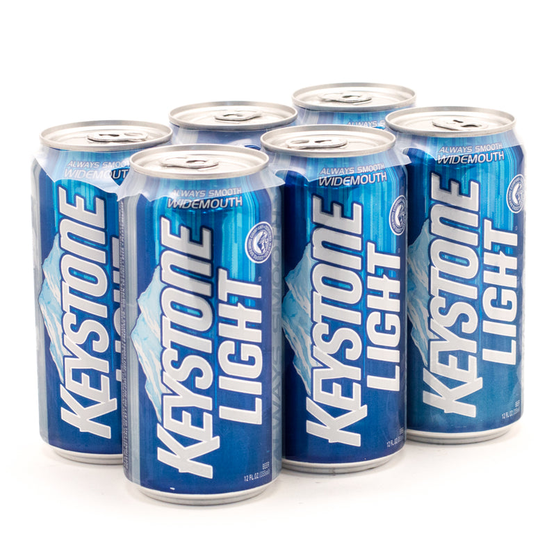 Keystone Light, 6 pack can Brian's discount market