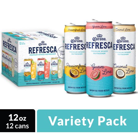 Corona Refresca Variety Pack Mexican Flavored Malt Beverage briansdiscountmarket