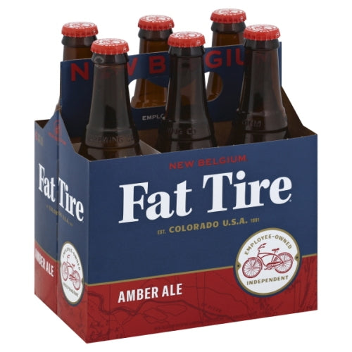 New Belgium Fat Tire AMBER ALE briansdiscountmarket