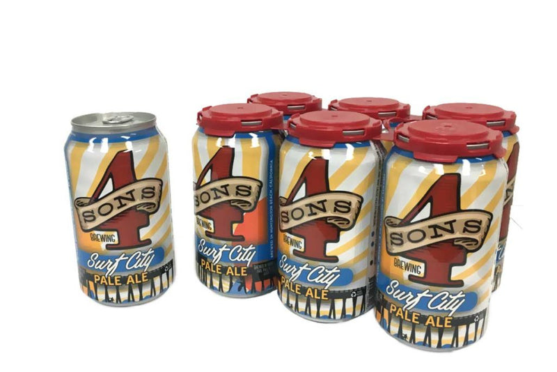 4 Sons Brewing, Surf City Pale Ale, 6 Cans briansdiscountmarket
