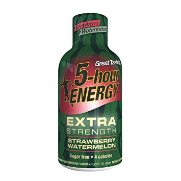 5-Hour Energy Strawberry Watermelon, Single Bottle